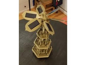 Solar Christmas Pyramid