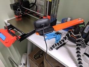 Logitech C525 boom arm