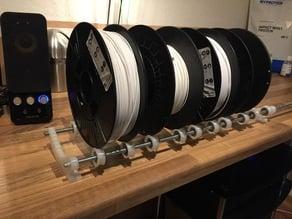 Filament Spool Roller Arm