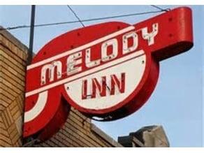 Melody Inn Sign