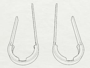LED Strip-Clip for Flamewheel - Extended Version