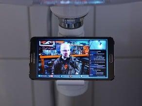 Bathroom phone holder