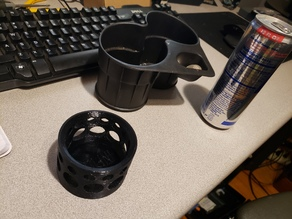 12 oz. Red Bull Can adapter for Cadillac CTSV