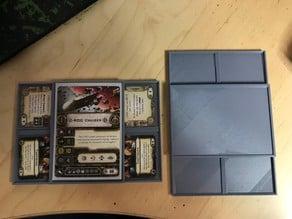 Star Wars Legion X-Wing Armada Compact Card Holder