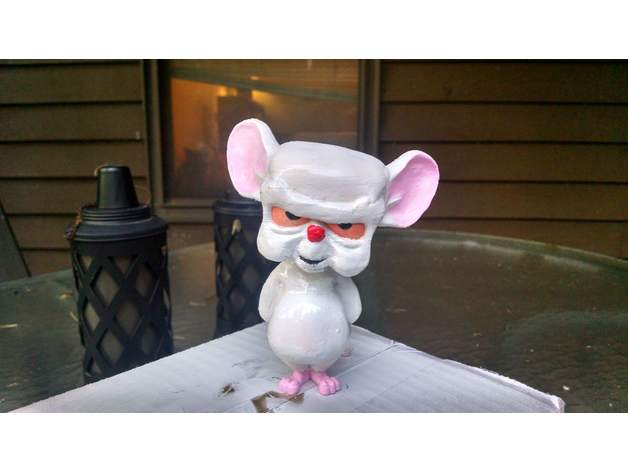 Brain From Pinky And The Brain By Mypaiswell