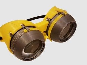 Blinking Iris Goggles Remix With Lenses
