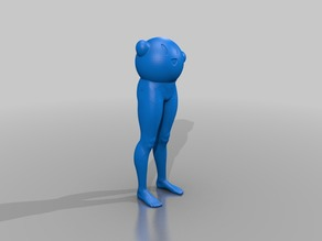 Kirby with human legs
