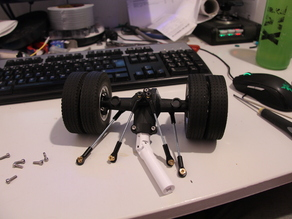 Printed truck: Rear axle V1