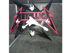 Metallica Clock Wall