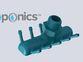 Pump Connector - 3Dponics Drip Hydroponics