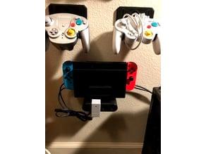 Nintendo Switch Dock Command Strip Wall Mount