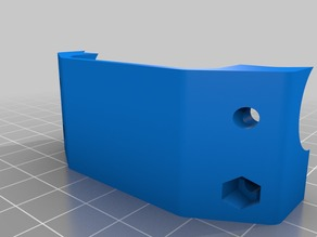 Bowden Extruder Mounting Blocks