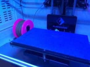 Mini filament holder for Flashforge Dreamer