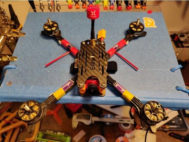 Emodia quad frame RX antenna arm mount