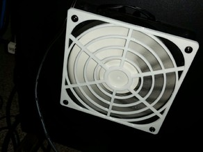 My Customized Fan Grille - 120mm, 6 vanes, 4 rings