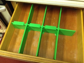 Drawer Dividers - Dove Tailed