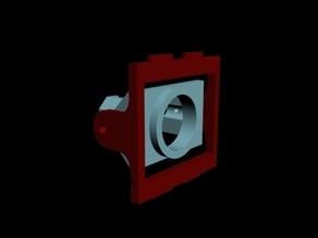FPV250 camera mount for tvl600 (fatshark) sized cameras