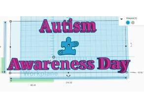 Autism Awareness Day Bracelet