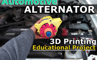 Image of Educational Automotive Alternator