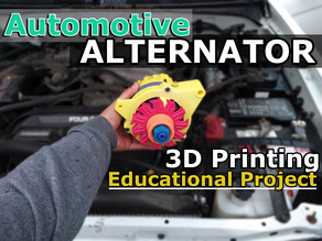 Educational Automotive Alternator