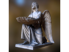 Baptismal Angel kneeling