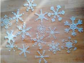 Ready to Print Snowflakes