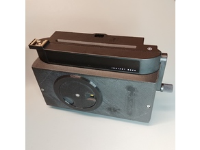terraPinstax Wide Pinhole Camera Body