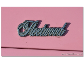 Cadillac Fleetwood badge