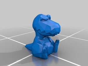 Low Poly Judgy T-Rex