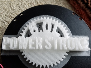 Ford Powerstroke Badge