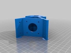 customized Kossel LM8UU 1515 extrusion