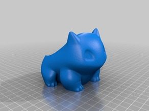 Bulbasaur Planter High Res