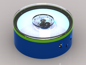 (siois) led turntable