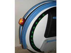 Light mount for Ninebot One C+