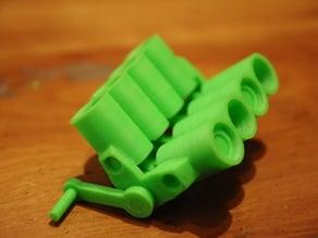 Printable V8 motor