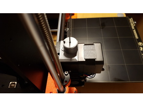 Prusa i3 MK3S Filament dust cleaner