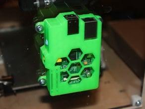 Raspberry Pi case (hexagon design)