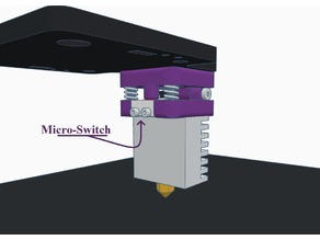 Bed Leveling Switch on Nozzle