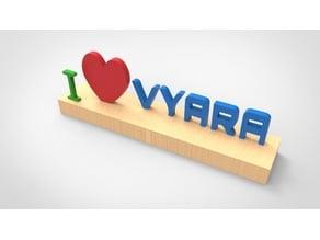 I Love Vyara