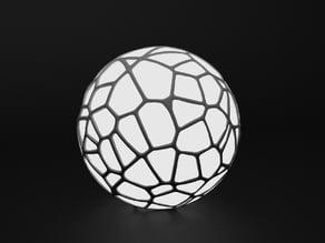 Voronoi lamp 2