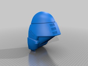 Starship Troopers M3 Tactical Helmet Molding Master