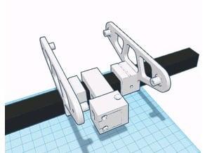 CR-10 Filament sensor 2020 mount