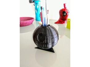 Death Star Pencil Holder Vase with Triangle Base