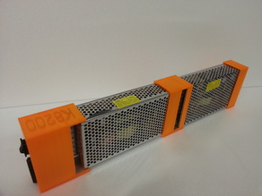 Dual power supply holder
