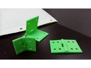 Parametric One-Piece Hinge