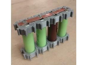 Modular 18650 Battery Holder