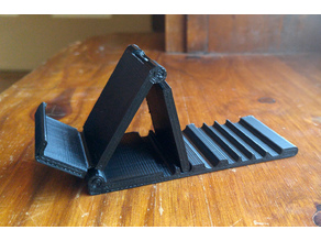 1 Piece Folding Phone Stand v1 (print in place)