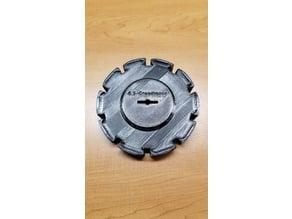 openBulletFeeder - 6.5 Creedmoor Collator Plate