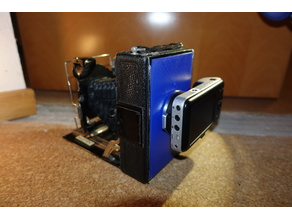 MFT adapter to 9x12cm large format camera