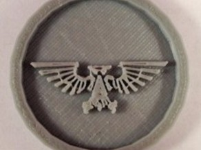 40mm X 4mm Token - Marker of Impieral Army 40K Bits